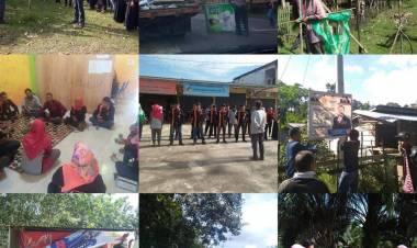 Bawaslu Bersihkan Seribuan APK di Batanghari