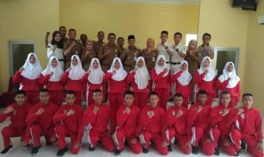 Lepas Peserta Seleksi Paskibraka Tingkat Provinsi, Ini Target Wawako Maulana