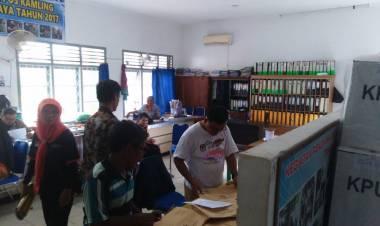 Surat Suara DPR RI Sulawesi Tenggara Nyasar ke Kelurahan Ekajaya Jambi