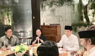Ada Apa Jokowi Kumpulkan Pimpinan Partai Pengusung di Restoran?