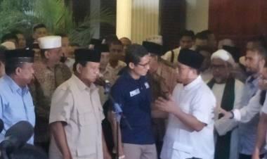 Deklarasi Kemenangan, Prabowo Ajak Pendukungnya Jaga Persaudaraan
