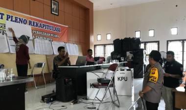 Kapolda Jambi Pantau Rekapilulasi di Kecamatan Ini