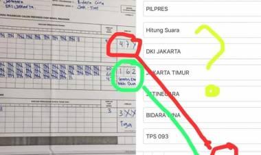 Soal Kesalahan Entri Data, KPU: Kalau Ada Menduga Kami Curang, Masa Dipublikasikan?