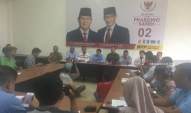 BPP Akui Suara Prabowo-Sandiaga Kalah Tipis di Jatim