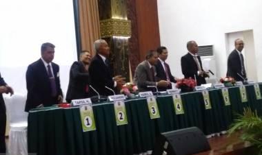 Ini Dia Delapan Calon Rektor Unand Paparkan Visi Misi