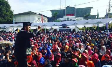 Kumpulkan 4 Juta Suara, Komedian Oni SOS Kembali Jadi Senator