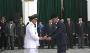 Terdakwa Suap Ini Dilantik Jadi Bupati Cirebon, Begini Kata Ridwan Kamil