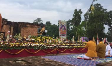 Peringatan Waisak di Candi Muarojambi Mengusung Tema Kebhinekaan & Keutuhan Bangsa