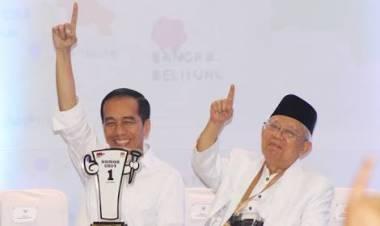 Selasa Dinihari KPU Tetapkan Jokowi-Amin Pemenang Pilpres 2019