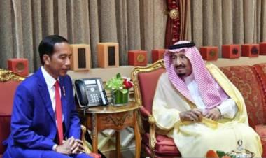 Raja Arab Salman Bin Abdulaziz Ucapkan Selamat Kepada Jokowi