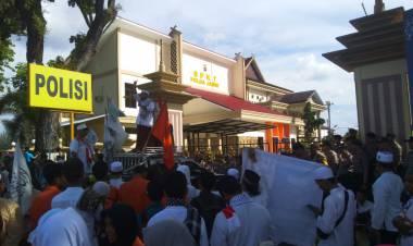 Terkait Aksi 22 Mei di Jakarta, Sejumlah Massa FPI Datangi Mapolda Jambi