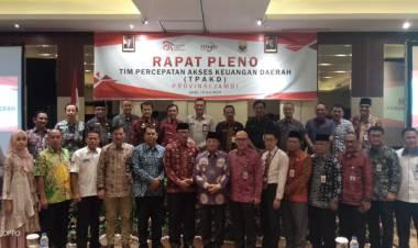 Pleno Tim TPKAD Provinsi Jambi, Gubernur: Realisasi Penyaluran Bantuan Pangan Non Tunai Jadikan Jambi 10 Terbaik
