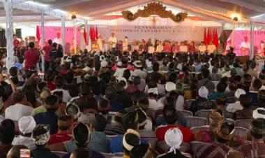 Asyik, Jokowi Bagikan 3.000 Sertifikat Tanah di Bali