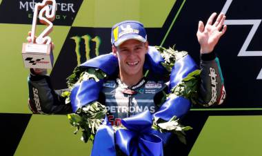Quartararo Naik Podium MotoGP untuk Pertama Kali