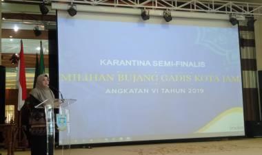 Yuliana Fasha: Bujang Gadis Jambi Harus Bisa Promosikan Kota Jambi