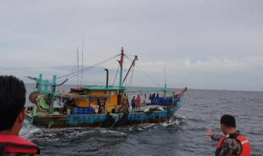 KKP Kembali Tangkap Kapal Ilegal Asal Malaysia