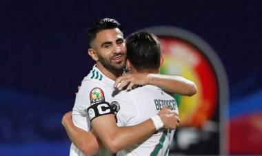 Kontra Kenya, Aljazair Menang Meyakinkan 2-0