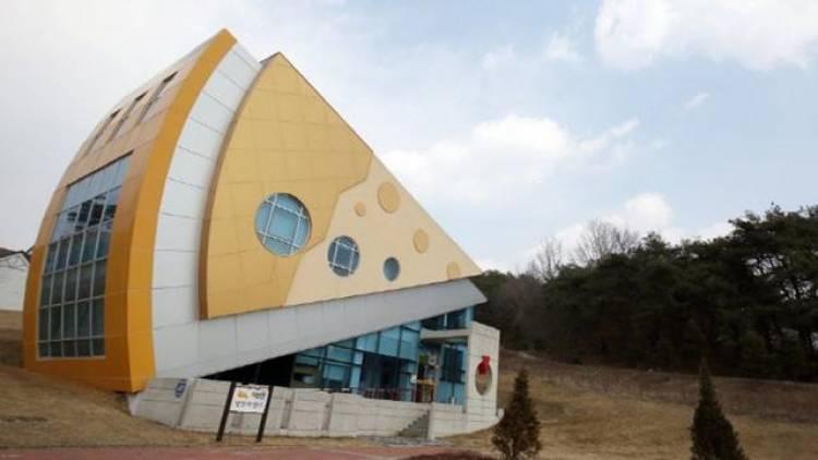Unik, Ada Taman Bermain Bertemakan Keju di Korea Selatan