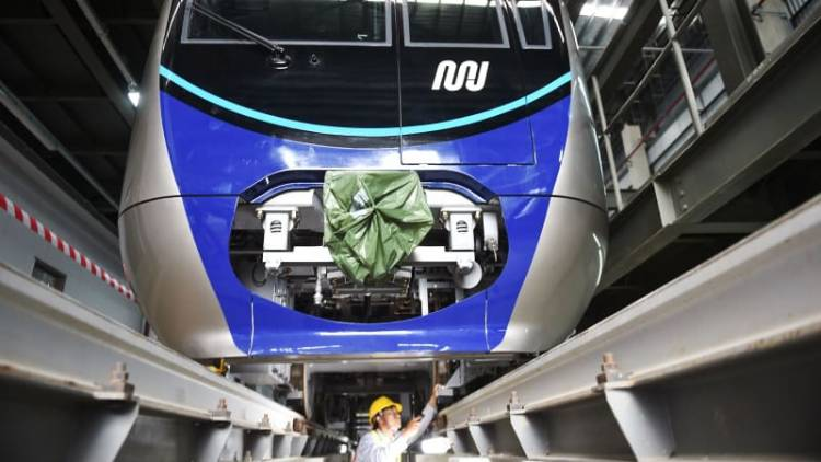 Kereta MRT Bakal Diuji Coba Desember 2018