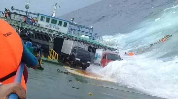 KEMBALI TERJADI!!! Angkut Ratusan Orang, KM Lestari Maju Tenggelam di Selayar