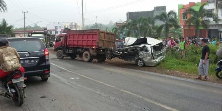 Ini kronologi kecelakaan beruntun yang tewaskan 7 orang di Banyuasin
