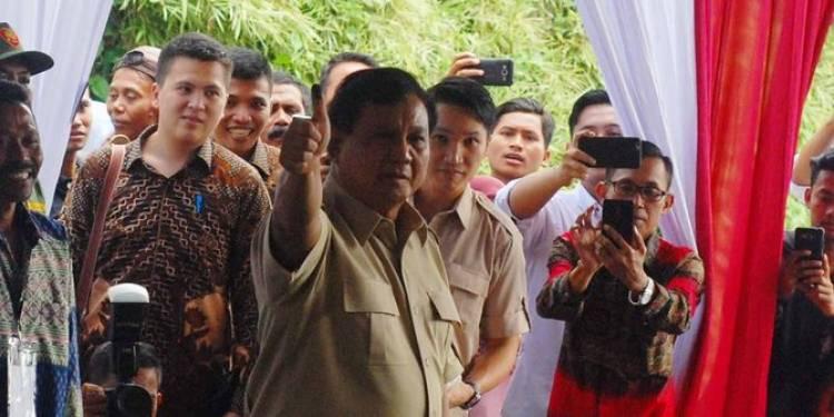 Ini Syarat Untuk Menjadi Pendamping Prabowo di Pilpres 2019, tertarik?!!