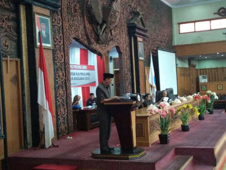 DPRD Tolak Sekda Provinsi Jambi Mewakili Plt Gubernur di Sidang Paripurna
