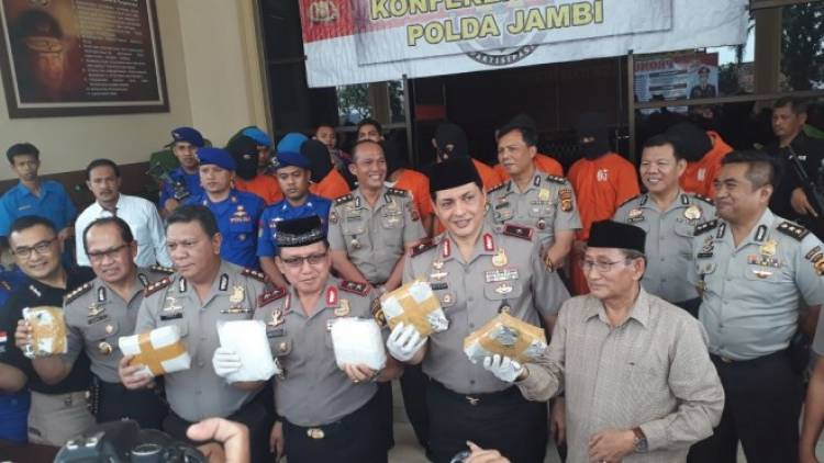 Ternyata Penyelundupan Sabu 7 Kg di Jambi Melibatkan Oknum Polisi Polda Jatim