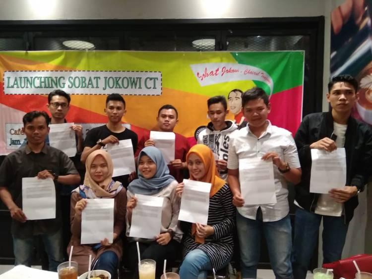 Relawan Anak Muda Jambi Deklarasikan Jokowi-Chairul Tanjung