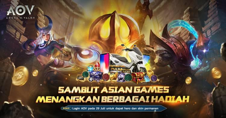 Event Sambut Asian Games 2018, Nyalakan Obor Bersama Temanmu