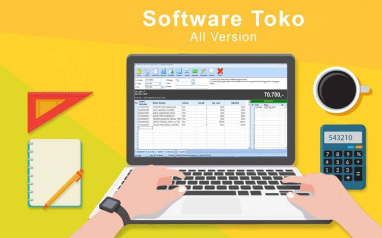 Membuat Aplikasi Penjualan Sederhana dengan Visual Basic 6.0