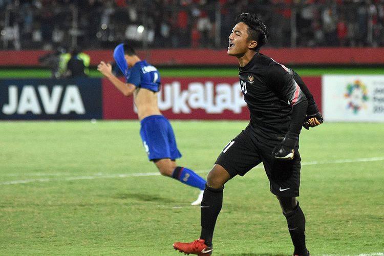 Ini Dia Kunci Sukses Kiper Timnas U-16 Tepis Dua Penalti Pemain Thailand