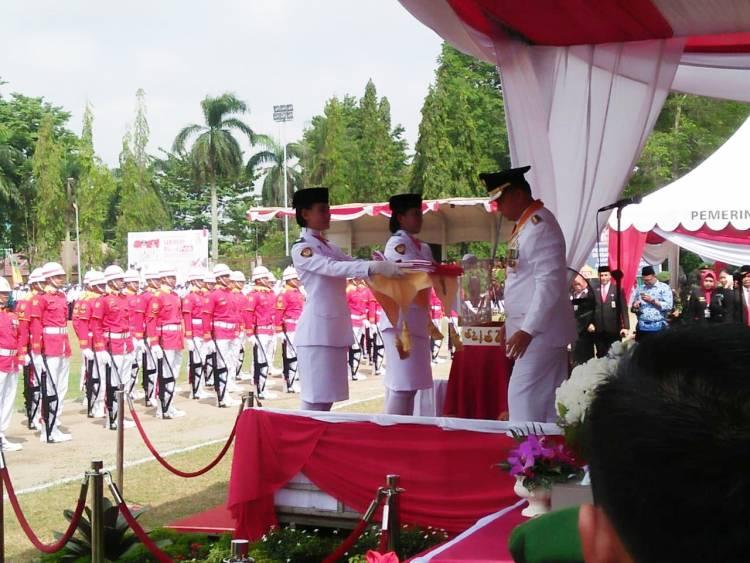 Walikota Fasha Pimpin Upacara HUT RI ke 73 Kota Jambi