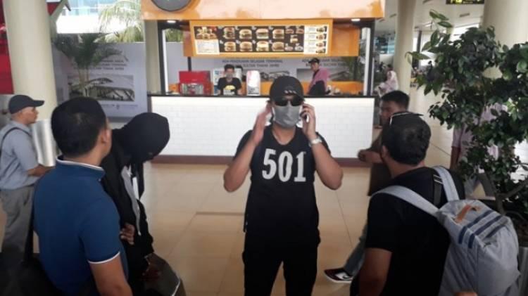 Polisi Kembangkan Penyelundupan Ganja Lintas Provinsi yang Ditangkap di Bandara Jambi