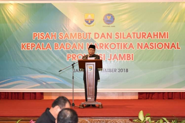 Fachrori Umar Ucapkan Terimakasih Kepada Brigjen Toha Suharto