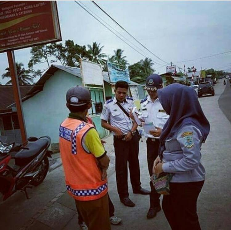 Retribusi Parkir Sumbang PAD Kota Jambi Rp150 Juta Perbulan