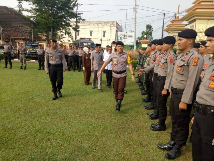 Operasi Mantap Brata 2018, Polres Batanghari Kerahkan 285 Personel