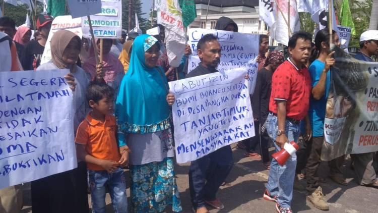 Petani Jambi Nilai Pemerintah Tak Berupaya Selesaikan Polemik Perampasan Tanah