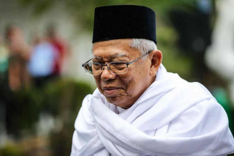 Minta Dukungan Istri Gus Dur, Ma'ruf: Saya Sudah Tua Hanya Membantu Pak Jokowi Menyiapkan Saja