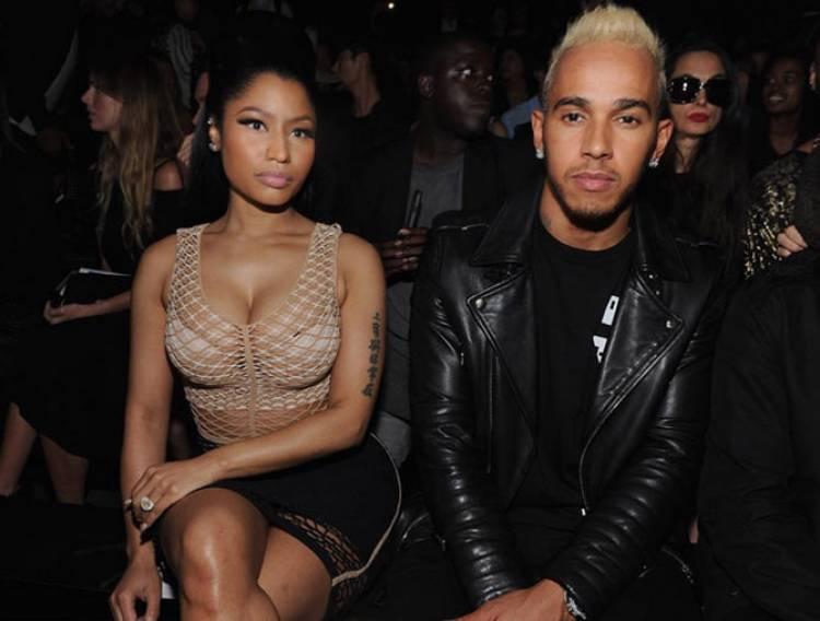 Nicki Minaj dan Lewis Hamilton Resmi Berpacaran