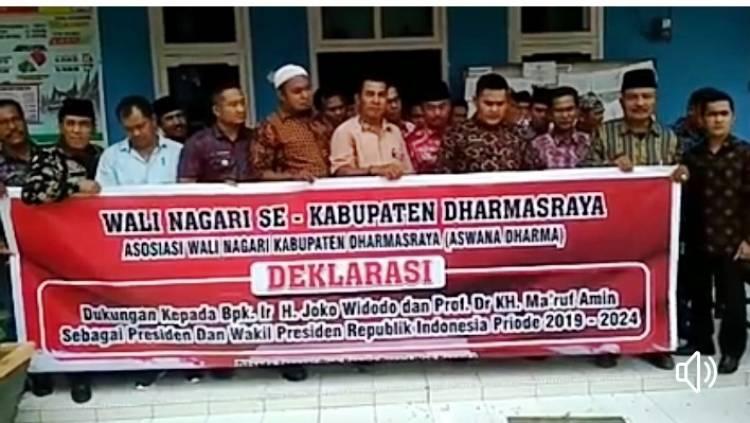 Bawaslu Sebut Wali Nagari Dharmasraya yang Deklarasikan Dukung Jokowi Bisa Dipidana