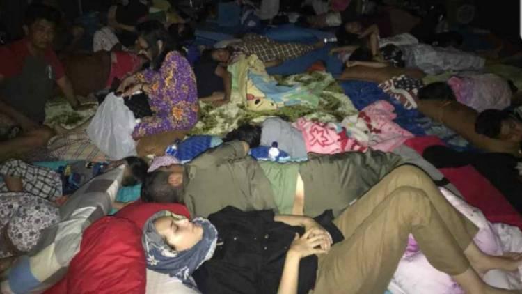 Pasca Gempa & Tsunami Wakil Walikota Palu Pasha Ungu dan Istri Ngungsi di Luar Tenda Darurat