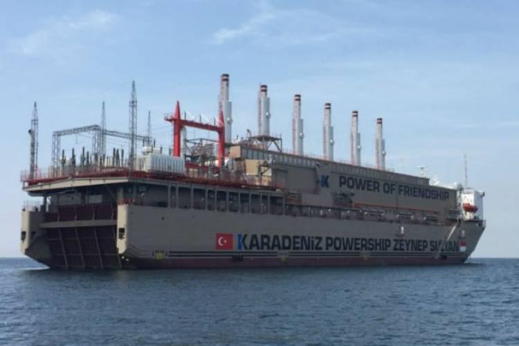 Suplai Jaringan Listrik, Kapal Terapung Pembangkit Tenaga Listrik Dikirim ke Palu
