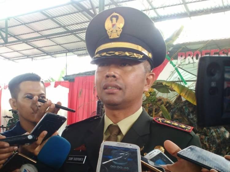 HUT TNI 73, Danrem 042/Gapu: Profesionalisme TNI untuk Rakyat