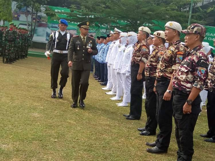 Danrem 042/Gapu Jambi Ingatkan Prajurit Jaga Netralitas