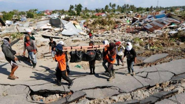 Ribuan Warga Jambi Shalat Ghaib Bagi Korban Gempa & Tsunami Palu