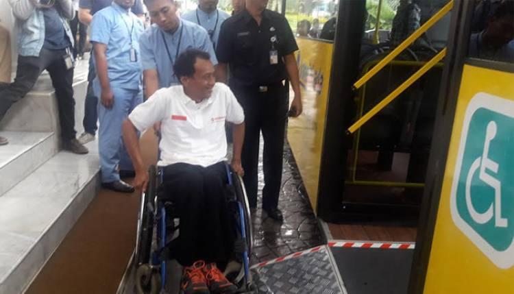Pemprov DKI Siapkan 270 Unit Bus Ramah Disabilitas untuk Atlet Asian Para Games