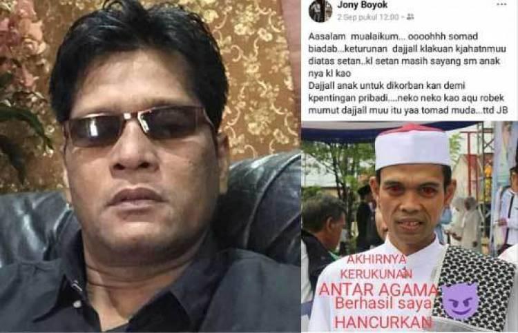 Sebut Ustadz Abdul Somad Mirip Dajjal, Kontraktor Kondang Riau jadi Tersangka