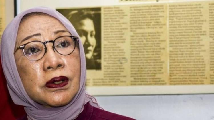 Diperiksa Polda Metro Jaya, Ratna Sarumpaet Sebut Nama Presiden KSPI