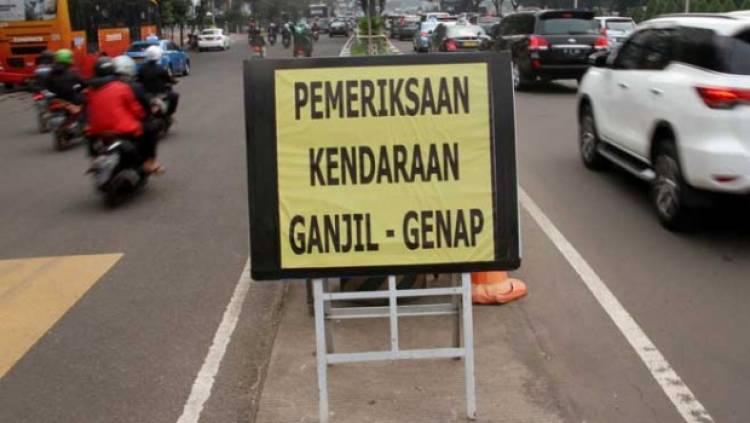 Kebijakan Ganjil Genap Jakarta Diperpanjang Hingga 31 Desember